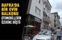 Evin Balkonu Otomobillerin Üzerine Düştü
