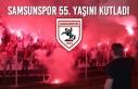 Samsunspor 55. Yaşını Kutladı