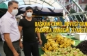 Başkan Cemil Deveci'den Pazarda Pandemi Ziyareti