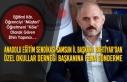 Murat BAHTİYAR'dan Özel Okullar Derneği Başkanına...
