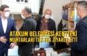 Başkan Av. Cemil Deveci Atakumlu Muhtarları Unutmadı