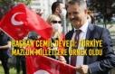 Başkan Cemil Deveci: Türkiye Cumhuriyeti Mazlum...