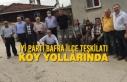İYİ Parti Bafra İlçe Teşkilatı Köy Yollarında