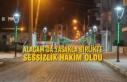 Alaçam'da Yasakla Birlikte Sessizlik Hâkim...