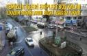 Temizlik İşleri Ekipleri Boş Kalan İlkadım Sokaklarını...