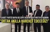 """Mustafa Harman; """"Ortak Akılla Hareket Edeceğiz!"""""""