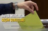 Bafra İlçesi Muhtarlık Seçim Sonuçları