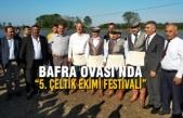 """Bafra Ovası'nda """"5. Çeltik Ekimi Festivali"""" Yapıldı"""