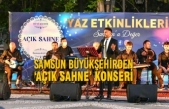 Samsun Büyükşehirden 'Açık Sahne' Konseri