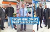 İş İnsanı Kemal Sümer'e Samsun'dan Büyük Destek