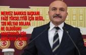 Erhan Usta; Merkez Bankası'nın Faizleri Düşürmemesini Eleştirdi