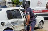 Kolay Kavşağında Trafik Kazası Biri Ağır Olmak Üzere 7 Yaralı