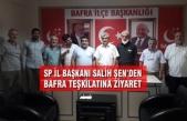 SP İl Başkanı Salih Şen'den Bafra İlçe Teşkilatına Ziyaret