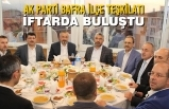 AK Parti Bafra İlçe Teşkilatı İftarda Buluştu