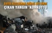 Bafra Kızılırmak Sanayi Sitesinde Yangın
