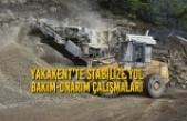 Yakakent'te Stabilize Yol Bakım-Onarım Çalışmaları