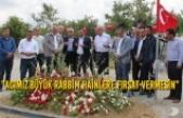 Yılmaz, Şehit Binbaşının Mezarını Ve Baba Ocağını Ziyaret Etti
