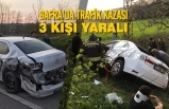 Bafra'da Trafik Kazası: 3 Kişi Yaralı