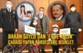 Bakan Soylu'dan 'Evde Kalın' Çağrısı Yapan Kardeşlere Bisiklet