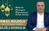 İsmail Kuloğlu'ndan Ramazan Bayramı Mesajı