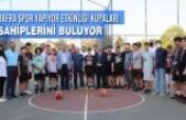Bafra Spor Yapıyor Etkinliği Kupaları Sahiplerini Buluyor