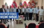 Alaçam'da Muhtarlar Derneği Seçimi Yapıldı