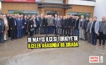 19 Mayıs İlçesi Türkiye'de İlçeler Arasında 89.Sırada