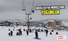 Akdağ Kayak Merkezi'nde yoğunluk