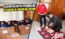 Alaçam Belediyesi Personeline İş Sağlığı ve Güvenliği Eğitimi