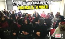 Halk Eğitim Merkezi'nde Tüberküloz Semineri Düzenledi