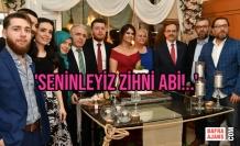 Başkan Şahin, Gün Boyu Esnafla, Akşam Vatandaşlarla Bir Araya Geldi
