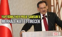 """Demir; """"Yaptığımız Her Proje Samsun'a Merhale Kat Ettirecek"""""""