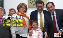Mustafa Demir; Belediye Makamı Hizmet Makamı
