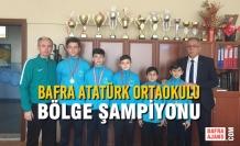 Bafra Atatürk Ortaokulu Bölge Şampiyonu