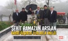 Şehit Ramazan Arslan Kabri Başında Dualarla Anıldı