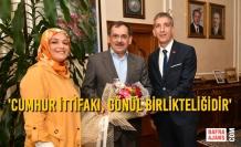 Atakum ve Canik MHP Teşkilatları, Başkan Mustafa Demir'i Ziyaret Etti