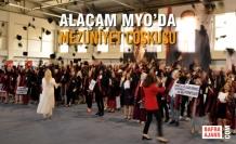 Alaçam MYO'da Mezuniyet Coşkusu