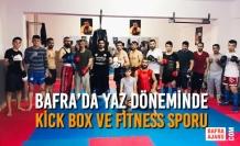 Bafra'da Yaz Döneminde Kick Box Ve Fitness Sporu