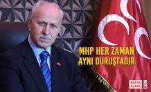 """Abdullah Karabıçak; """"MHP Her Zaman Aynı Duruştadır"""""""