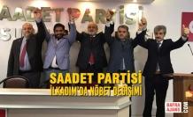 Saadet Partisi; İlkadım'da Nöbet Değişimi