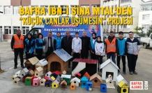 """Bafra İbn-İ Sina Mtal'den """"Küçük Canlar Üşümesin"""" Projesi"""