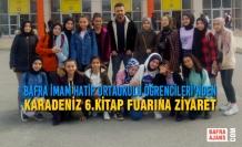 Bafra İmam Hatip Ortaokulu Öğrencileri; Karadeniz 6.Kitap Fuarına Ziyaret