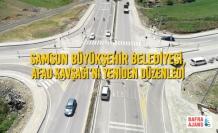 Büyükşehir Belediyesi, AFAD Kavşağı'nı Yeniden Düzenledi