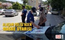Alaçam Polisi'nden Maske Uyarısı