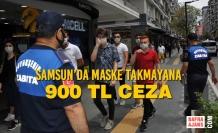 Samsun Büyükşehir Belediyesi Zabıtaları Maske Denetiminde