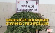 Samsun'da Düzenlenen Uyuşturucu Operasyonunda 2 Şahıs Gözaltına Alındı