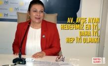 Av. Ayşe Ayan İYİ Parti İl Başkanlığına Adaylığını Koydu!