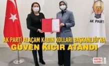 AK Parti Alaçam Kadın Kolları Başkanlığı'na Güven Kıcır Atandı