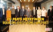 İYİ Parti Heyetinden Başkan Cemil Deveci'ye Geçmiş Olsun Ziyareti