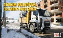 Atakum Belediyesi, Buzlanmaya Karşı Sahada